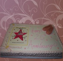 25th-anniversary-of-dancing-star-themed-cake